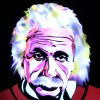 Jason D. Page Light Painting Albert Einstein 1