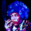 Jason D. Page Light Painting Jimi Hendrix 1
