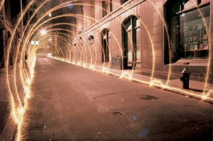Eric Staller's Light Tunnel