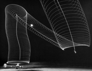 Sikorsky 3 Light Painting by Andreas Feininger