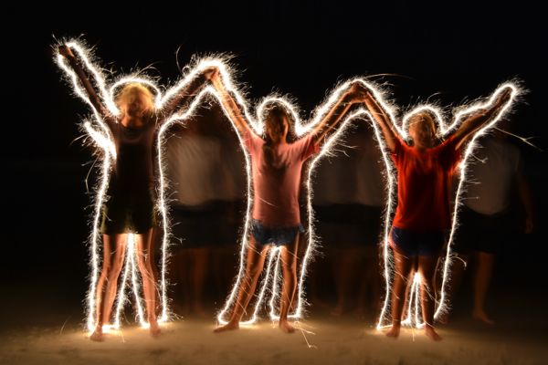 July August Light Painting Photography Contest Entries