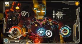 Light Painting Iron Man