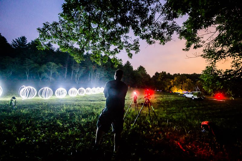 Light Painting World Record BTS by Jon Beard 3