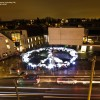 France Peace and Light Light Painting