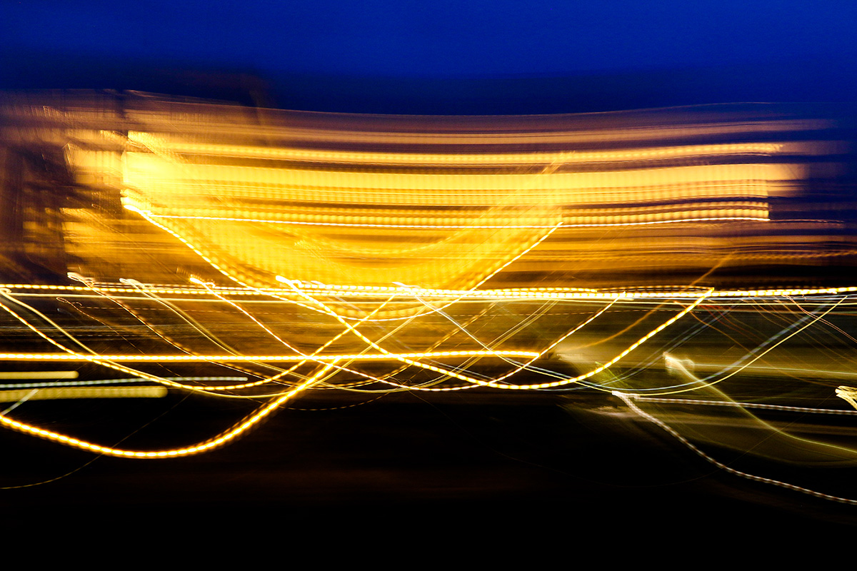 Light Painting with Time-Varying Light Sources by Dan Bennett