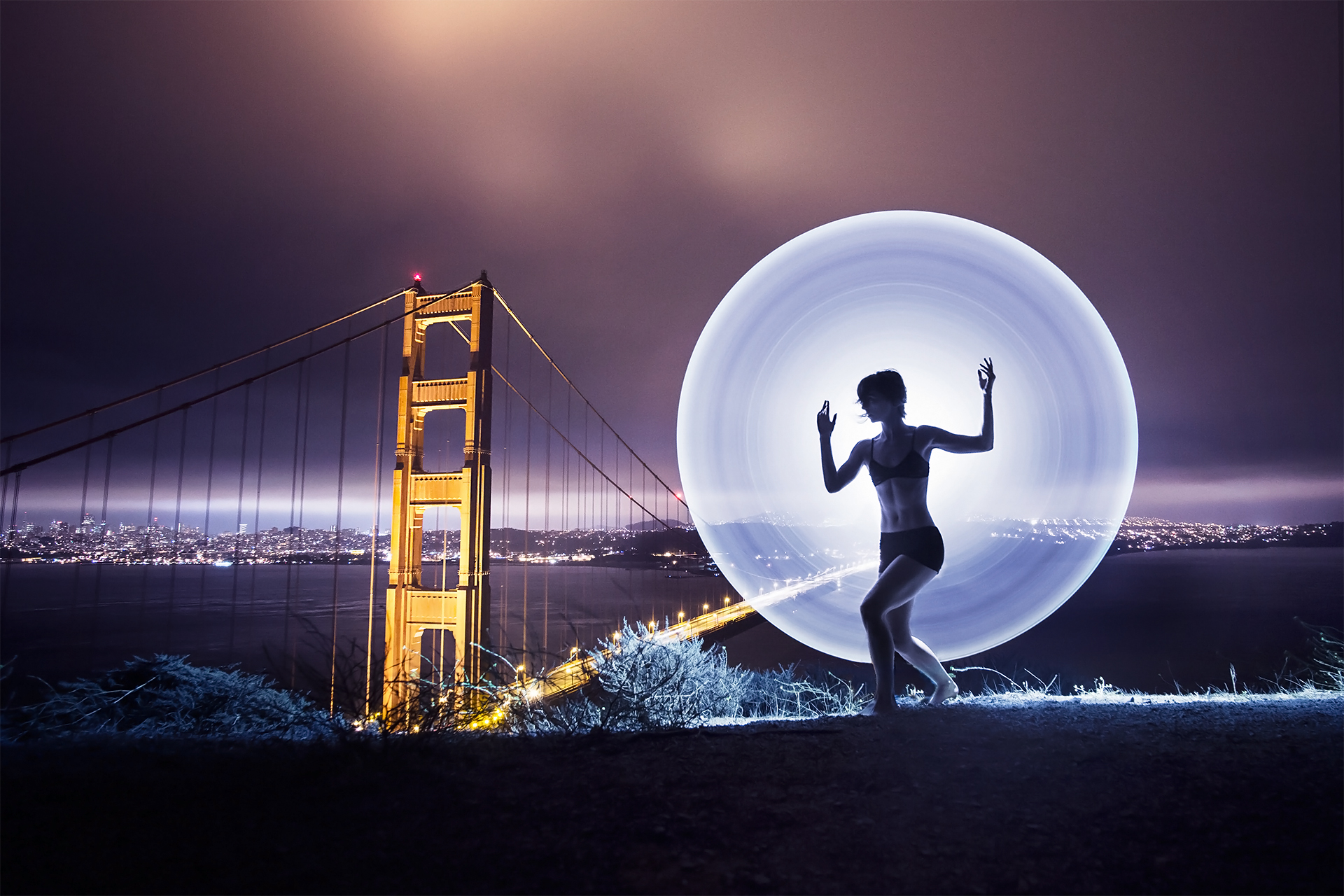 Light Painting Wedding Photography: Signs Of Light By Eric Pare