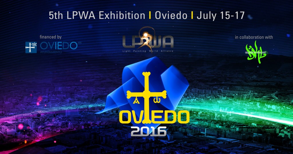 2nd International Light Art Congress in Oviedo Spain