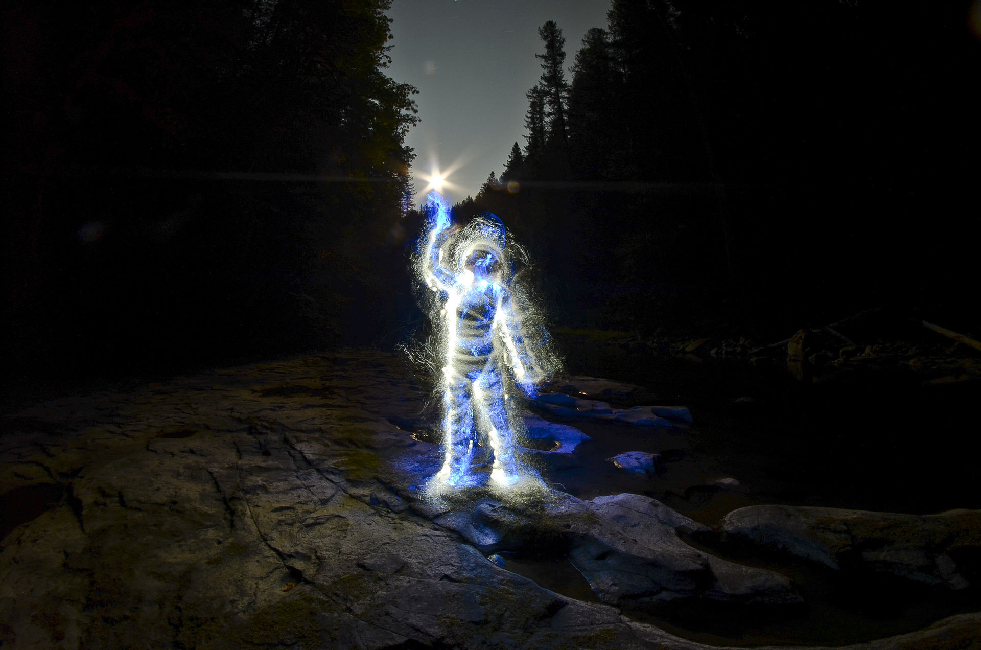 Light Painting Tutorial by Chris Bauer | Light Painting Photography for light painting photography tree  55dqh