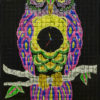 The Making Of Night Owl a Light Painting Mosaic by Chris Bauer