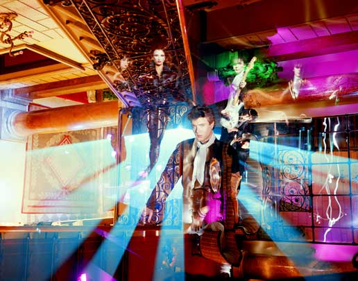 Duran Duran Light Painting Photography by Dean Chamberlain