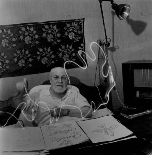 Henri Matisse Light Painting