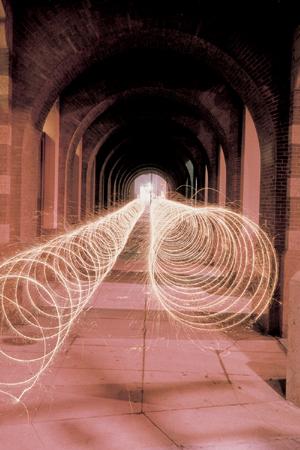 Eric Staller's Light Tubes Light Painting Photography