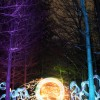 Painting the Cold Forest by Light Painting Artist Jeremy Jackson