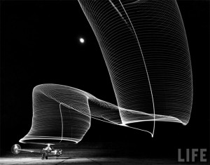 Sikorsky Light Painting by Andreas Feininger