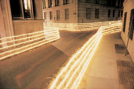 Eric Staller's Ribbon on Hannover Street Light Painting Photography