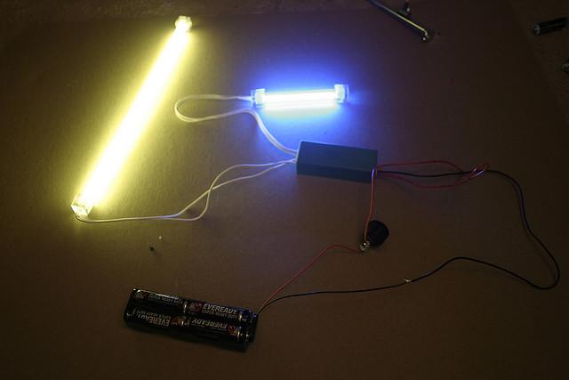 DIY Light Painting Cold Cathode