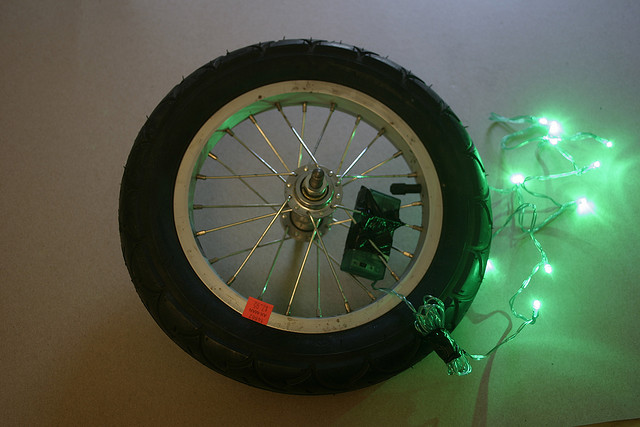 DIY Wheel Light Painting Tool Tutorial