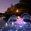 Angelic Light Painting by Jason D. Page