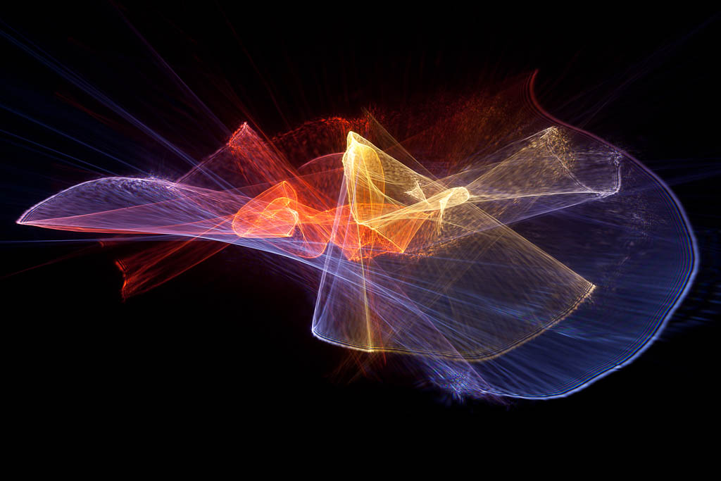 Abstract Photography Tutorial: Light Painting Refractograph Tutorial