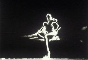 Light Painting by Susan Sims-Hillbrand Westwood - self portrait 1977