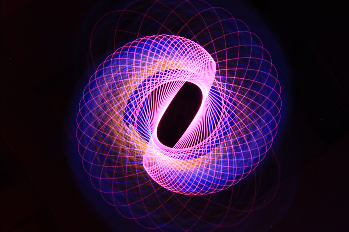 Light Painting Spirograph by Jason D. Page