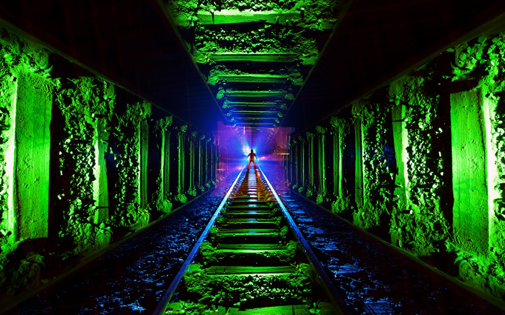 Camera Rotation Light Painting Tutorial. Jelle Schuurmans Tunnel Frenzy