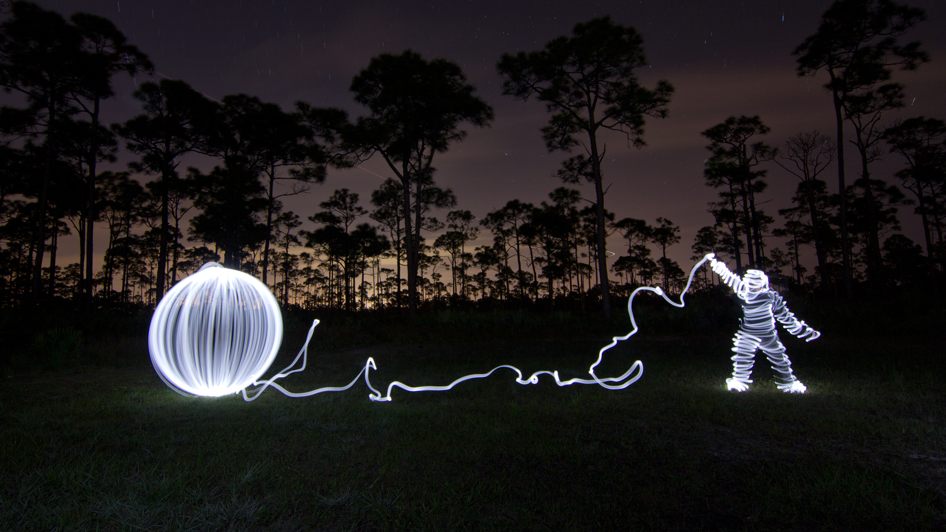 Light Painting Wedding Photography: Light Painting Tutorial, How To Light Paint A Light Man