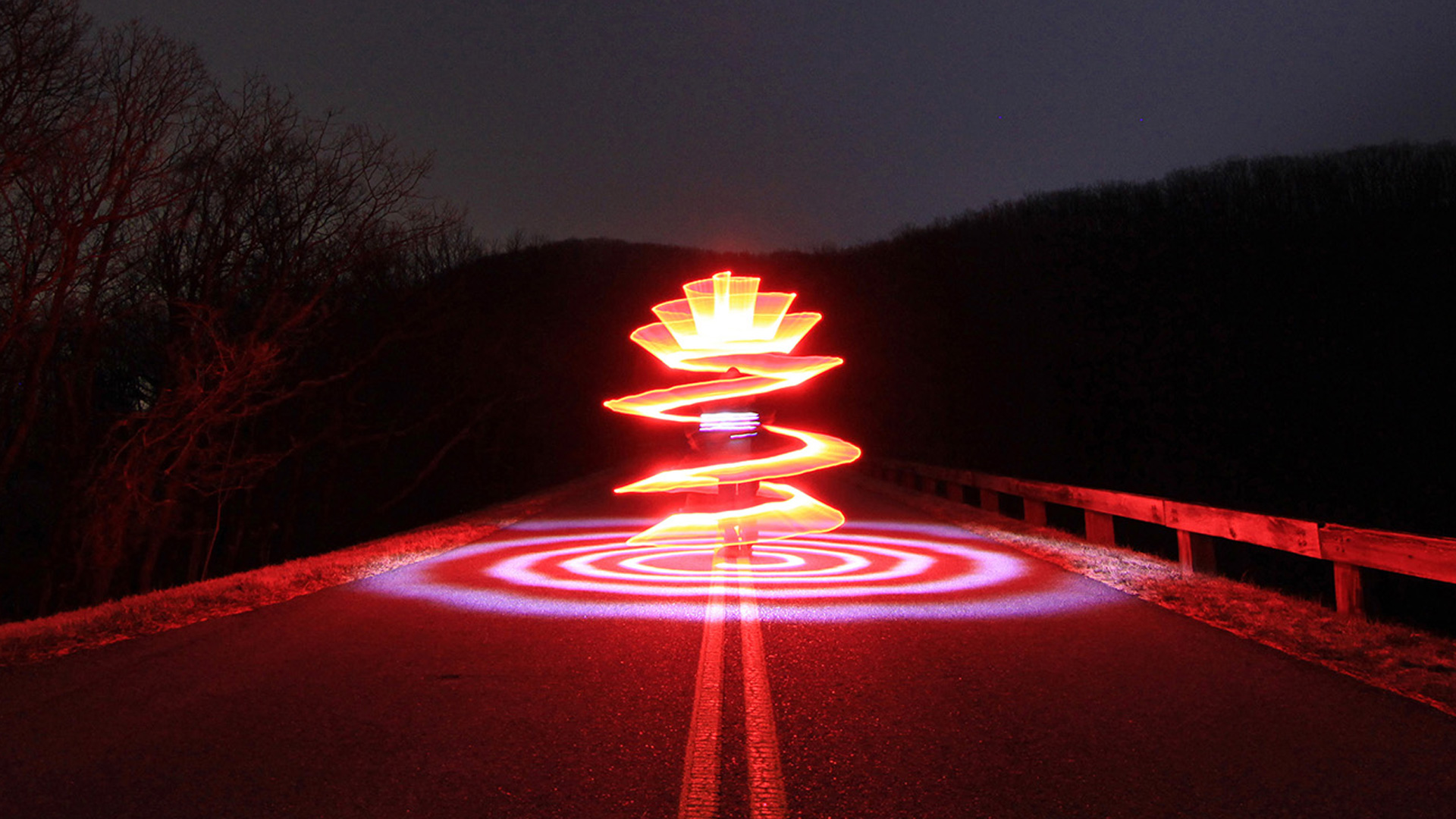 Light Painting Tutorial Spirals By