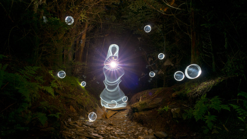 Ghost Light Painting by Jason D. Page