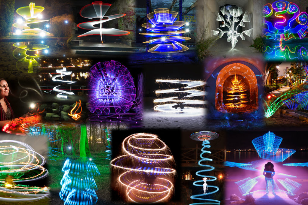 Light Painting Photography Contest February 2019
