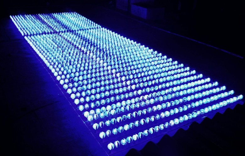 200 orbs | Light Painting Photography