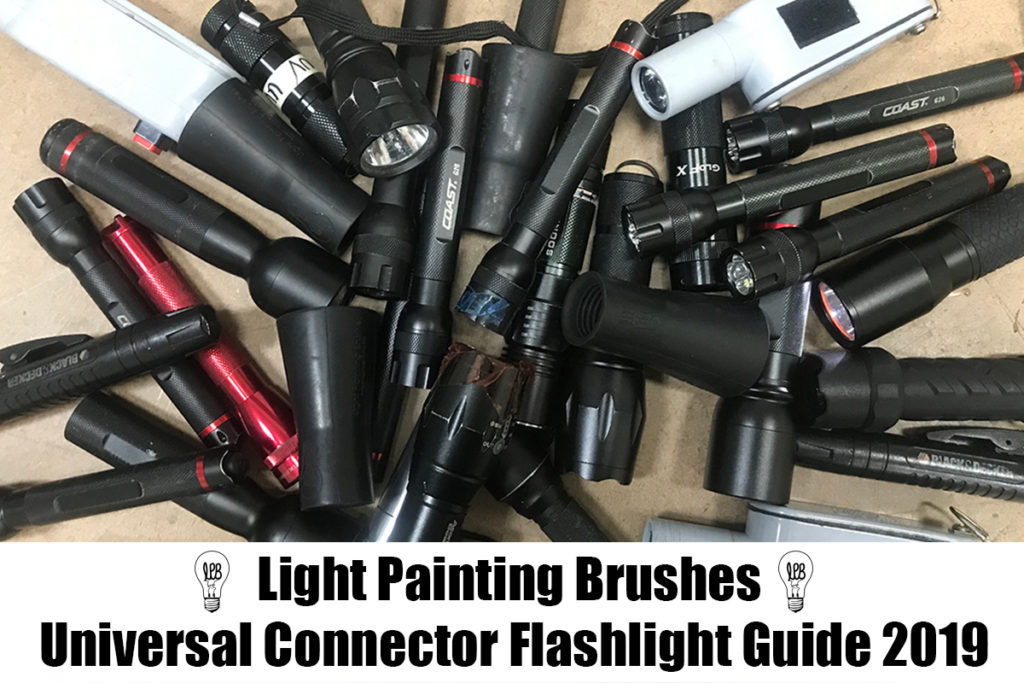 Light Painting Brushes Flashlight Guide