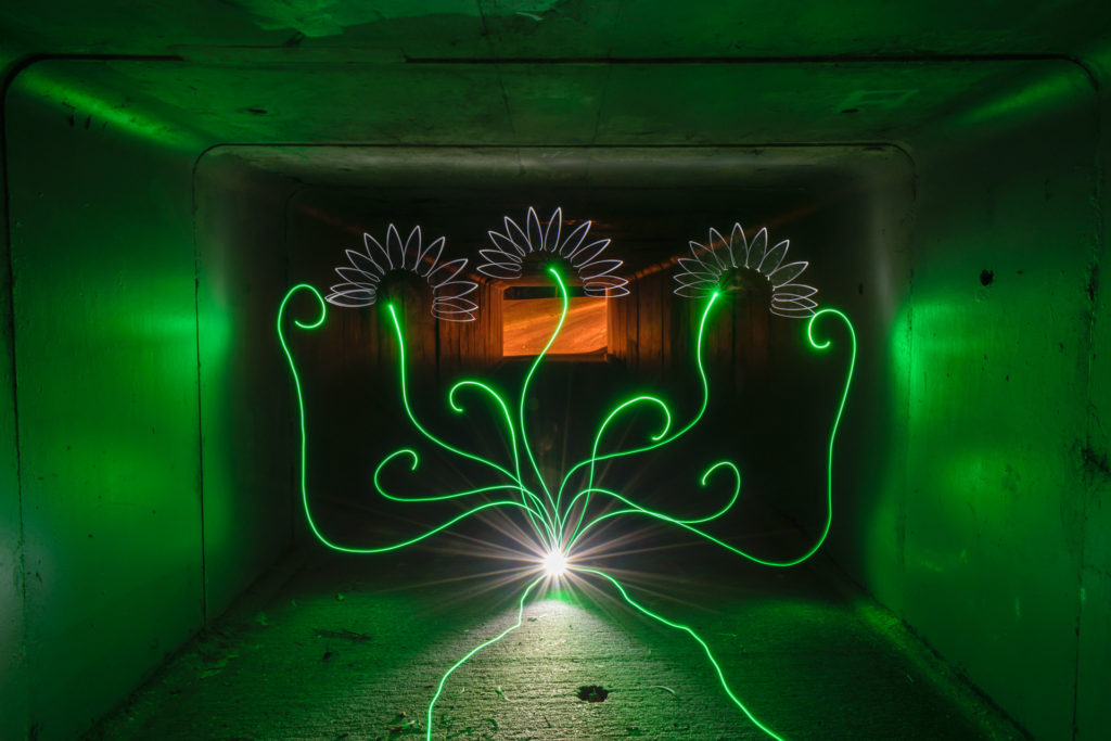 Light Painting by Stephen Knight