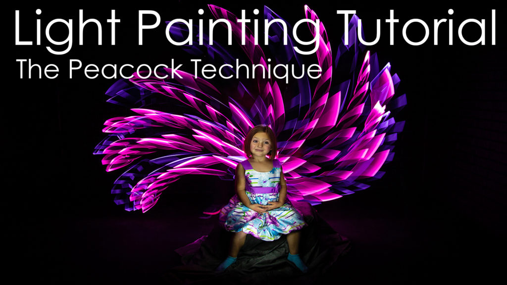 Light Painting Tutorial The Peacock Technique