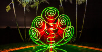 Light Painting By Rod Evans