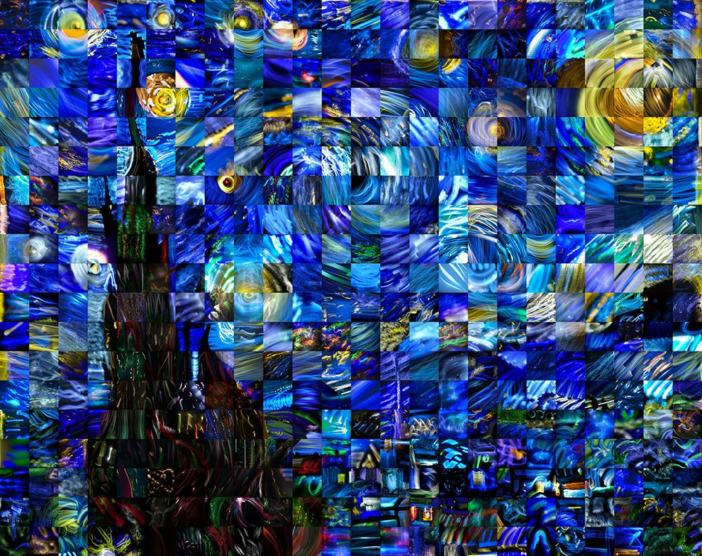 Light Painting Starry Starry Night