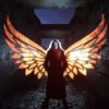 Light Painting With Wings Kim Von Coels 01