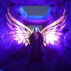 Light Painting With Wings Kim Von Coels