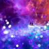 Light Painting of Sailing Through a Dream