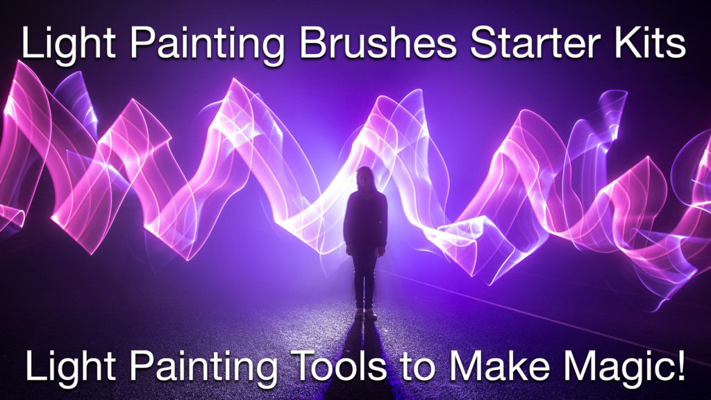 Light Painting Brushes Tools