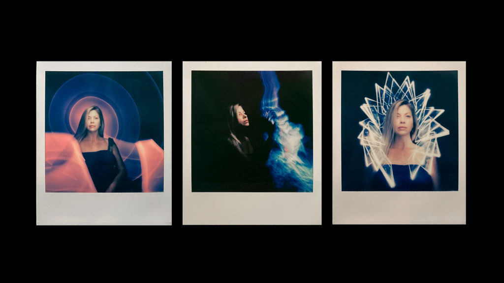 Polaroid Light Painting Photography