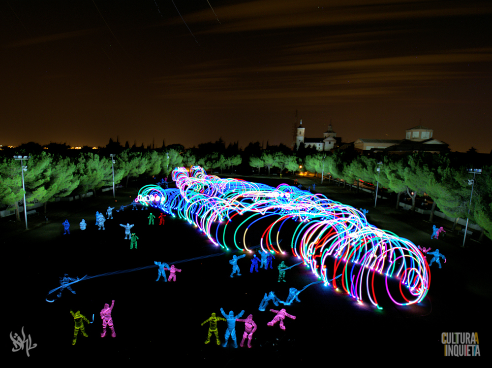 Light Painting Photography by Children of DarkLight