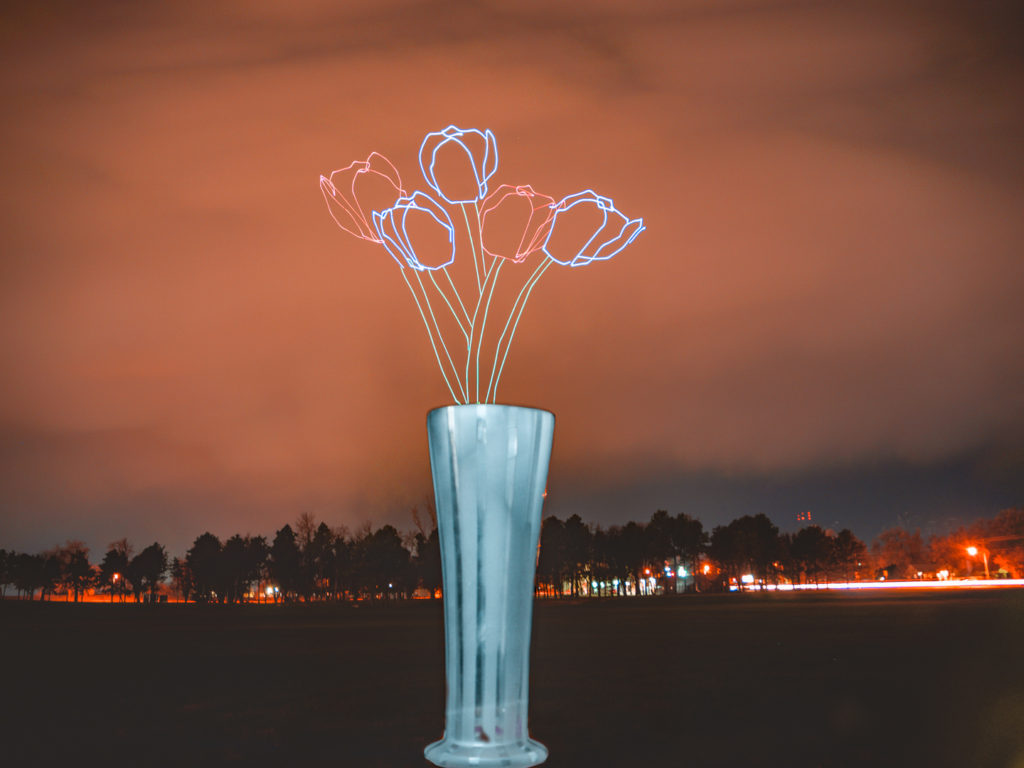Drone Light Painting by Russell Klimas