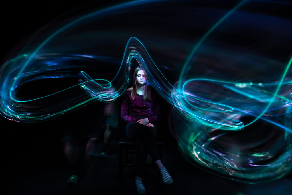 Light Painting with a Plastic Bottle by Jason Rinehart