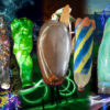 Light Painting Contest Entries with Bottles