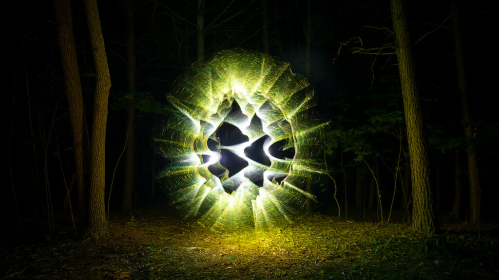 Light Painting Orb